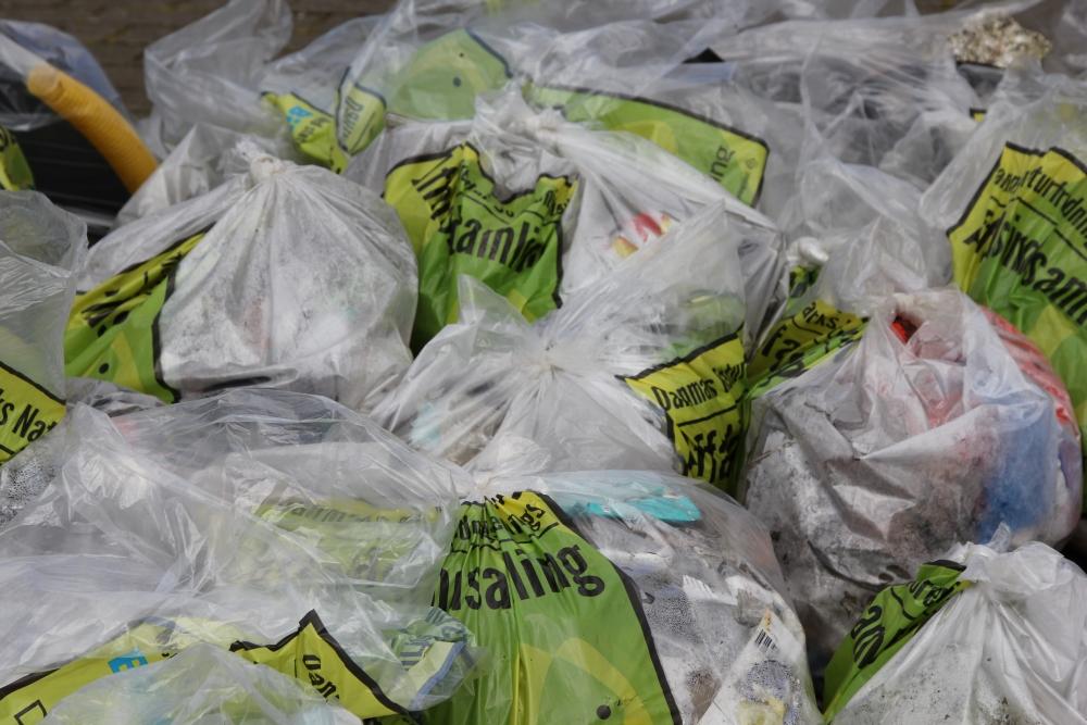 Gørding Ren By - affald 2016
