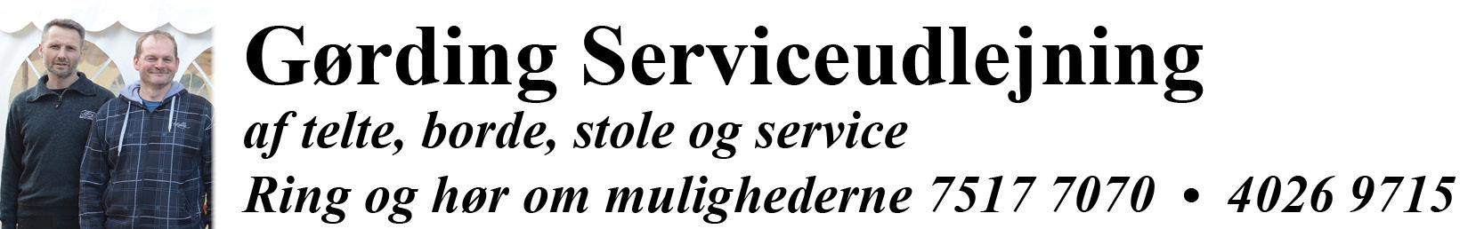 Reference - Gørding Serviceudlejning