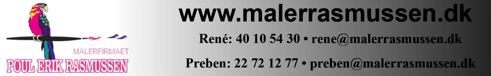 Reference - Malerfirmaet Poul Erik Rasmussen ApS